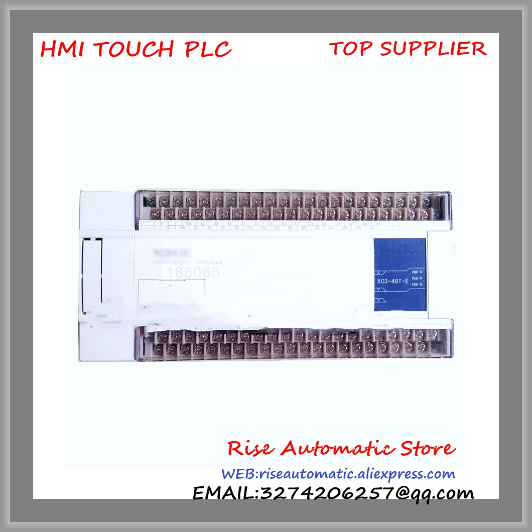 XC3-48T-E  PLC New Original CPU AC220V 28 DI NPN 20 DO Transistors