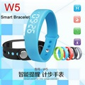 W5 Smart Bracelet Sport 3D Pedometer Wristbands Watch Sleep Monitering Calory Fitness Track USB Thermometer Intelligent Silicone