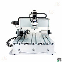 4 Axis CNC Wood Engraving Machine 3040 300W 3D Router Engraver Ball Screw PCB Milling Machine