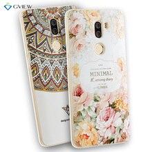 Huawei GR5 2017 Case 3D Relie f Печати Прозрачные Мягкие ТПУ Назад Аргументы За крышки Huawei Honor 6X Mate 9 Lite Мешок Телефон Coque капа