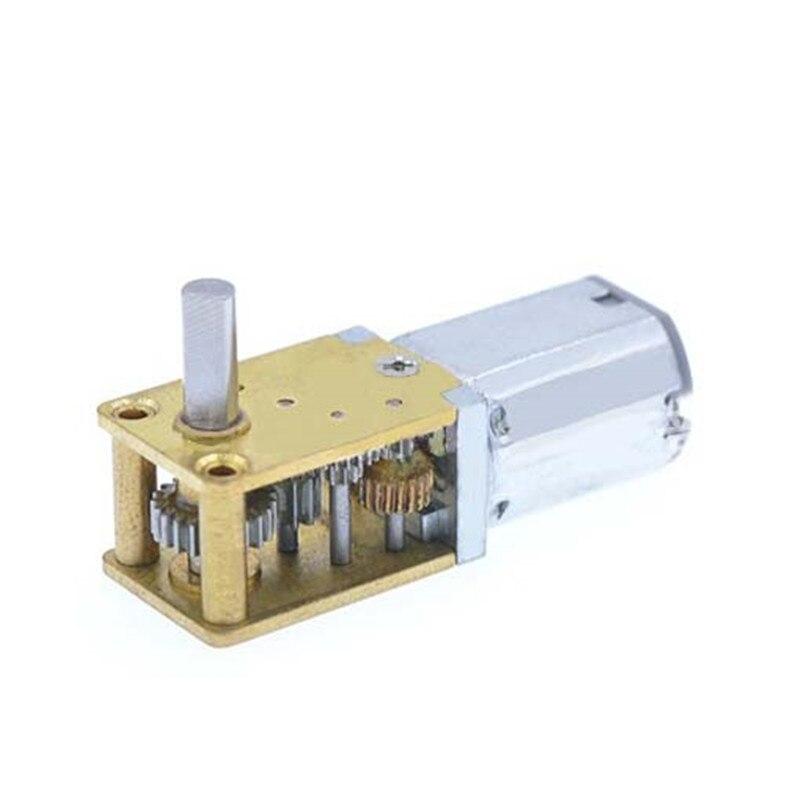 DC 6 V Micro Motor Da Engrenagem 30/63 RPM Motor da Engrenagem Baixa Velocidade Elétrica Mini Motor Redutor Motor Da Engrenagem de Redução para modelo de Robô carro