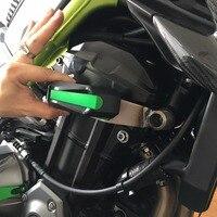 KEMiMOTO for Kawasaki Z900 2017 Frame Slider Motorcycle Engine Guard Protector Case Saver Parts for Kawasaki Z 900 2017