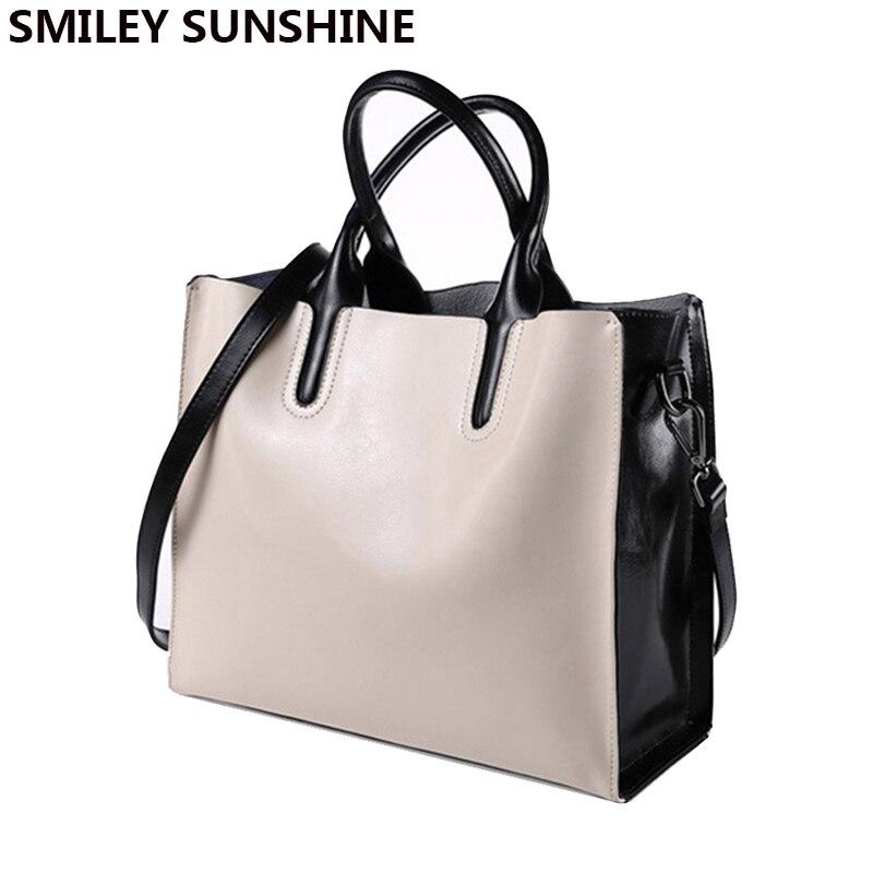 SMILEY SOLEIL marque sac dames véritable bandoulière en cuir sacs femme fourre-tout haut-poignée sacs femmes en cuir sacs à main sac un principal