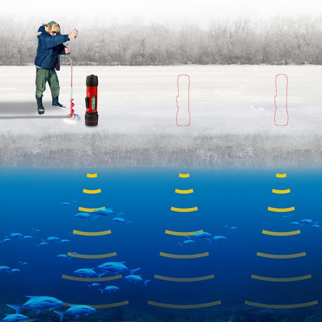 Digital Sensor Ice Fish finder.