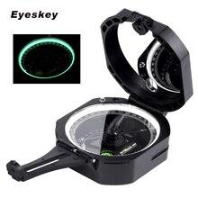 Профессиональный геологический компас Eyeskey, легкий Военный компас для выживания на открытом воздухе, для измерения расстояния наклона