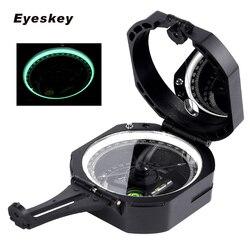 Eyeskey Professionale Bussola Geologica Leggero Bussola Militare di Sopravvivenza Di Campeggio Esterna Attrezzature Da Tasca Bussola