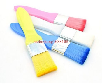 Fashion Accessories Perfect Match Brushed Beauty Mask Makeup Brush Color White Blue Yellow Pink