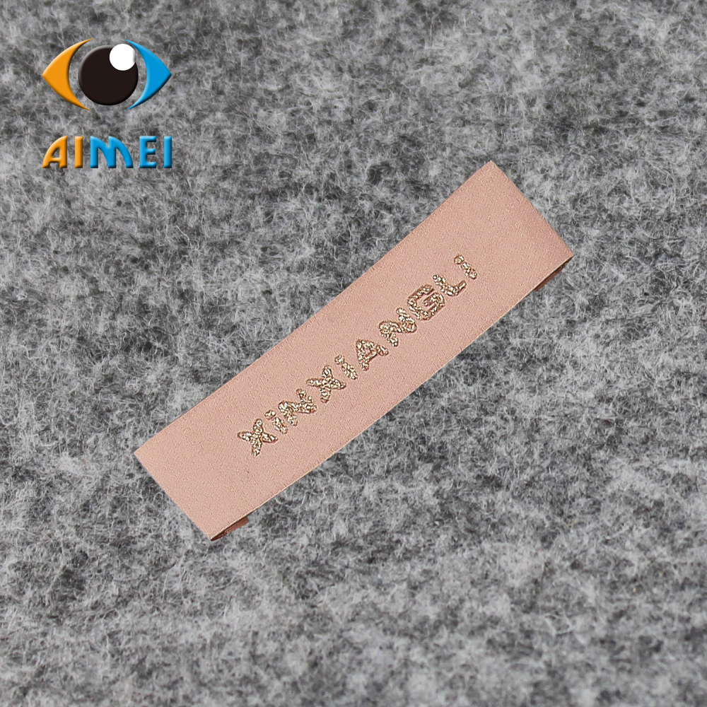 6X7cm Free Design & Free Shipping Customized 100% cotton Casual Women or men clothing labels / woven labels/ main labels SL025