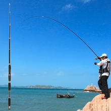 Telescopic Carbon Fishing Rod Sea River Spinning Carp Fishing Pole Stick free shipping
