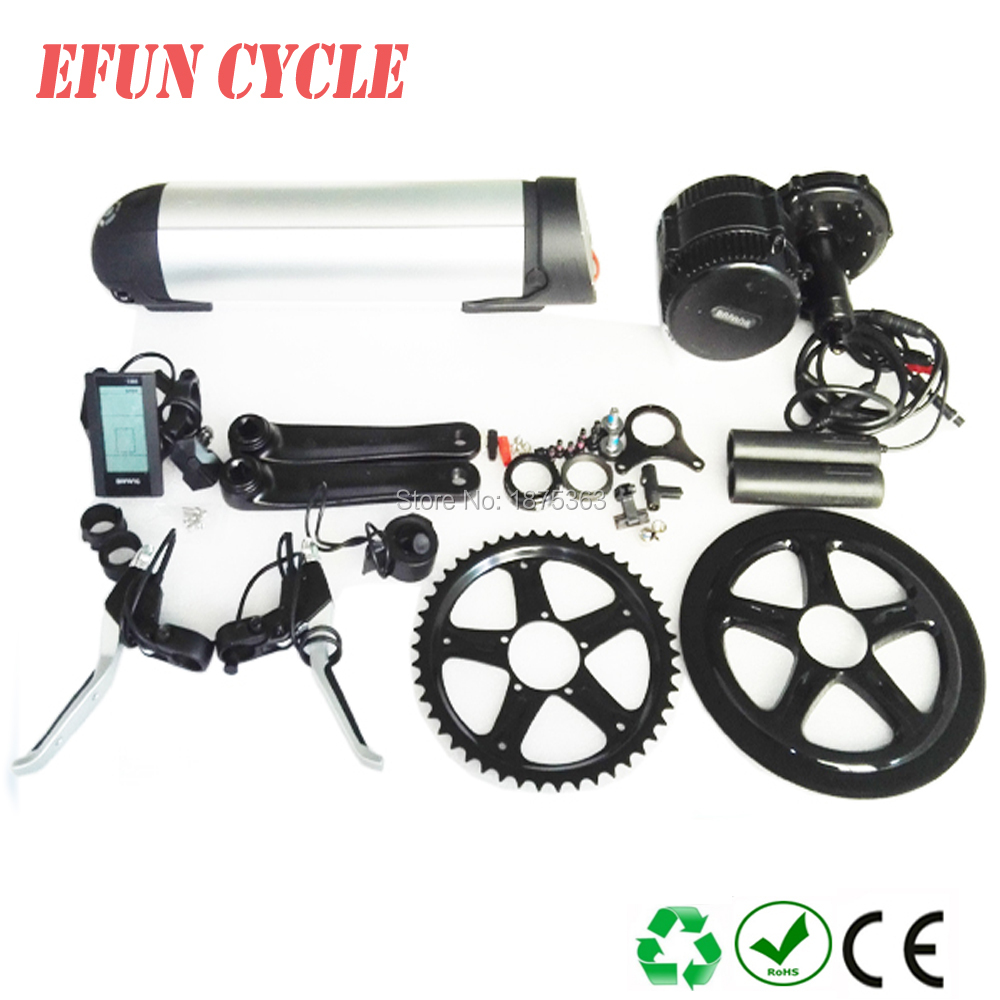 On Sales 8Fun/Bafang BBS02 48V 750W mid drive motor kits with 48V 16Ah new bottle/dolphin down tube battery for fat tire bikeOn Sales 8Fun/Bafang BBS02 48V 750W mid drive motor kits with 48V 16Ah new bottle/dolphin down tube battery for fat tire bike
