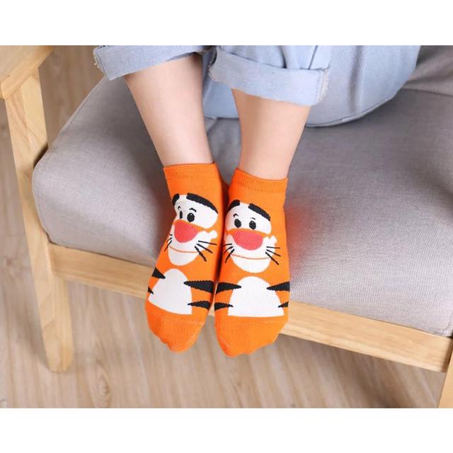 5 par/lote calcetines con estampado