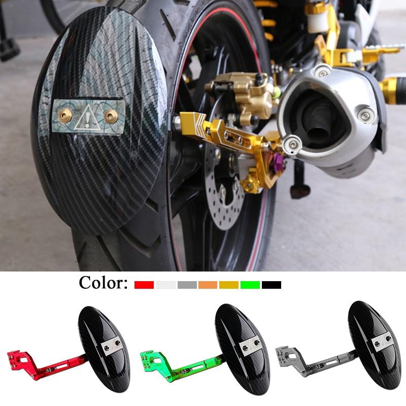 For Yamaha RC150 Kawasaki Z125 Honda MSX125 Motorcycle Accessories CNC Aluminum Alloy Rear Wheel Tire Fender Bracket Mudguard