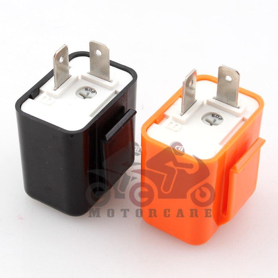 2 Pin 12 V Beeper Motorrad Blinker Blinker LED Blinker Perfekt ZJP