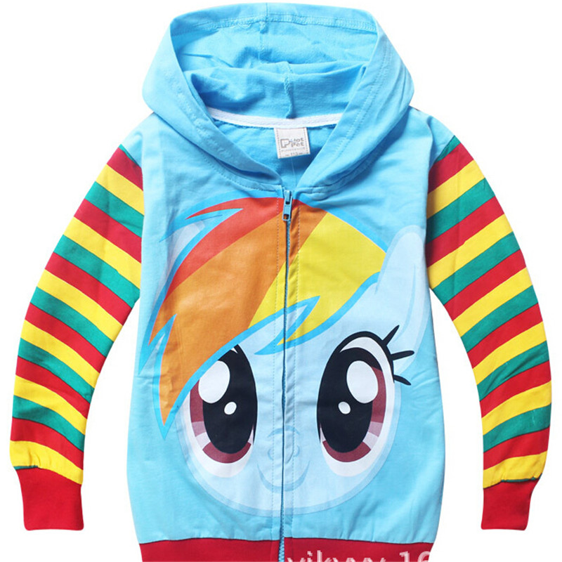 In The Spring Of 2016 The Autumn New Hot Boy Girl Hoodies Cartoon Children's Cotton Coat Free Shipping
