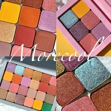 DIY Magnet Single Color Eyeshadow Palette Shimmer Matte Glitter Makeup Palette Balm Smoky Pigment Eyeshadow Pallete Cosmetic single eyeshadow pallete empty magnet palette shimmer matte glitter eyeshadow palette pigment smoky balm makeup palette cosmetic