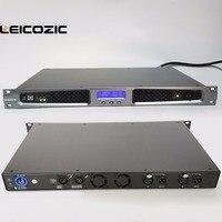 Leicozic Power Amp 550w Light weight Touring Amplifiers Professional Power Amp Amplifier 1U Rack Mount Stereo amplifier digital