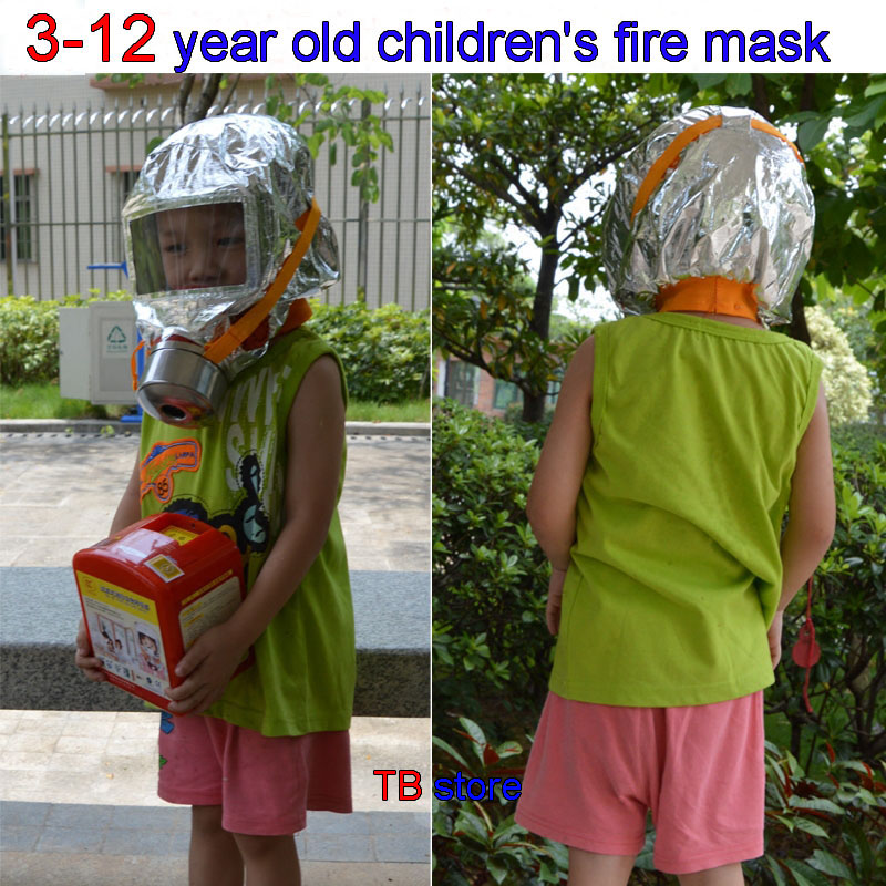 koupit respirátor pro děti od ohně - 30 minutes children fire escape respirator mask 3-12 annum children apply fire control protect mask children special face shield