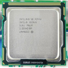 Intel Core Xeon X3440 8 Mt Cache 2,53 GHz Torbu Frequenz 2,9 LGA1156 P55 H55 in der nähe I5 650 i5 750 i5-760