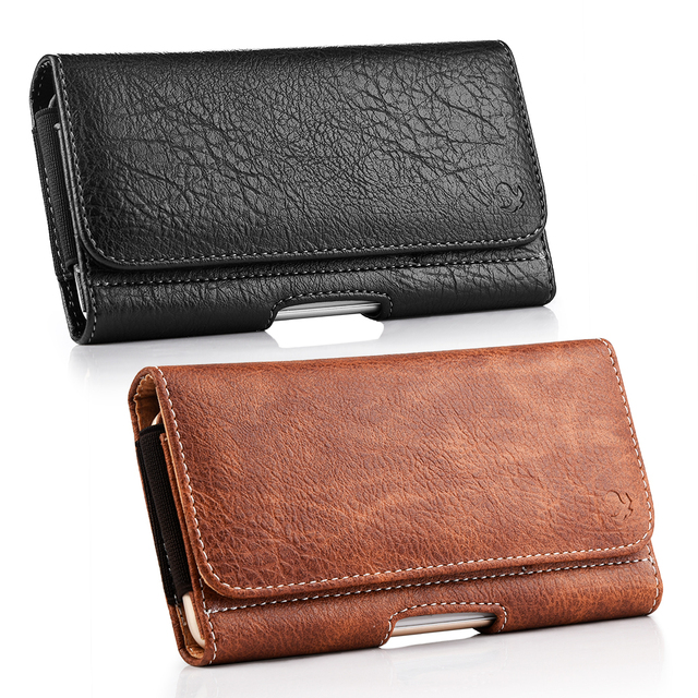 Universal Pouch Wallet Case 6.3/5.5/4.7 inch Waist Bag Magnetic Horizontal Phone Cover for iPhone X 8 7 Phone Belt Holster Clip 5
