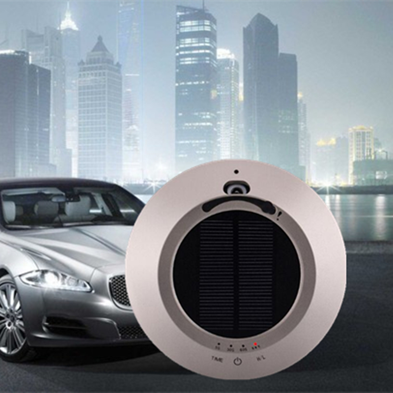 цены  FREE SHIPPING New Solar energy Car Air Purifier/Best Leading Supplier car ozone air purifier