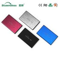 10PCS BLueendless Sata USB 3.0 HDD Case SSD 2.5 HDD Enclosure stat to usb metal hdd caddy for Notebook Desktop PC Hard Disk Box