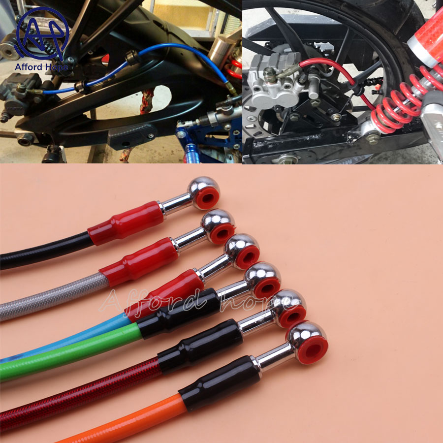 Motorcycle 900MM Colored Hydraulic Brake Fluid Hose Cable for Enduro Moto Dirt Pit Stunt Bike EXC SX DRZ RMZ TTR WR F R YZF RR