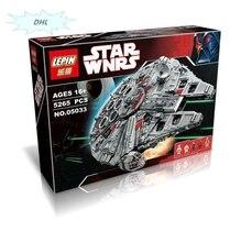 Hot LEPIN Nuevo 5065 unids 05033 Millennium Falcon Juguetes Figuras Building Blocks Marvel   STAR WARS 10179