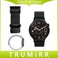18 мм Миланской Петля Ремешок для Huawei Watch/Fit Honor S1 Магнит Замок Ремешок Из Нержавеющей Стали Ремешок Quick Release Запястье браслет