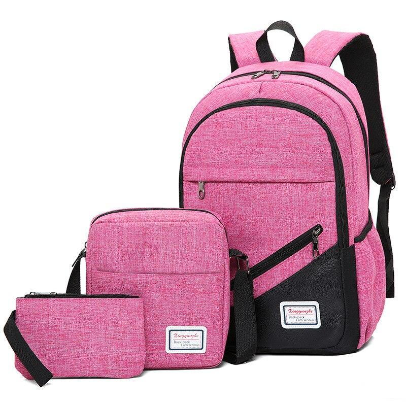 2019 High Quality Nylon School Bag For Teenagers Boys Girls Men Laptop Backpacks Waterproof Orthopedic School Backpack Mochila