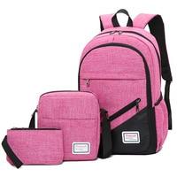2019 yüksek kaliteli naylon okul gençler için çanta erkek kız Erkekler dizüstü sırt çantaları Su Geçirmez ortopedik okul sırt çantası mochila