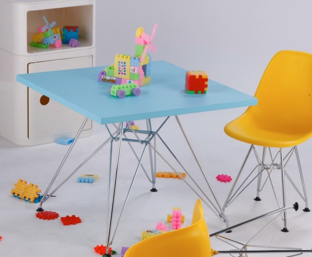Children Study Table Kids Table Baby Table Modern Classic Kids Dining Table  Squre Or Round MDF