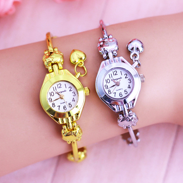 2018 Kids Hello Kitty Watches Children Cartoon Watch Women Watches Cute Girl Wat