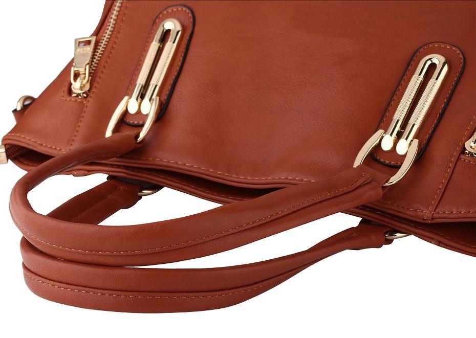 Moda qadınların orijinal dəri çantaları patentli lüks marka - Çantalar - Fotoqrafiya 3