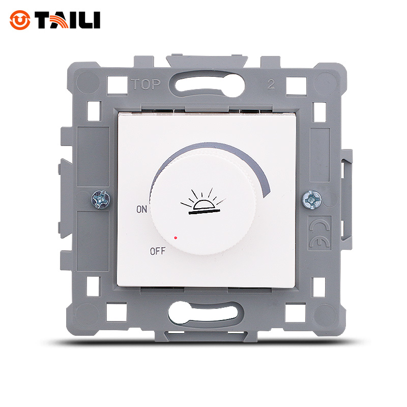TAILI Light Dimmer Switch Lamp Dimmer Mechanism Light Controller Module Light Regulator Module Light Modulator TL0618-OS