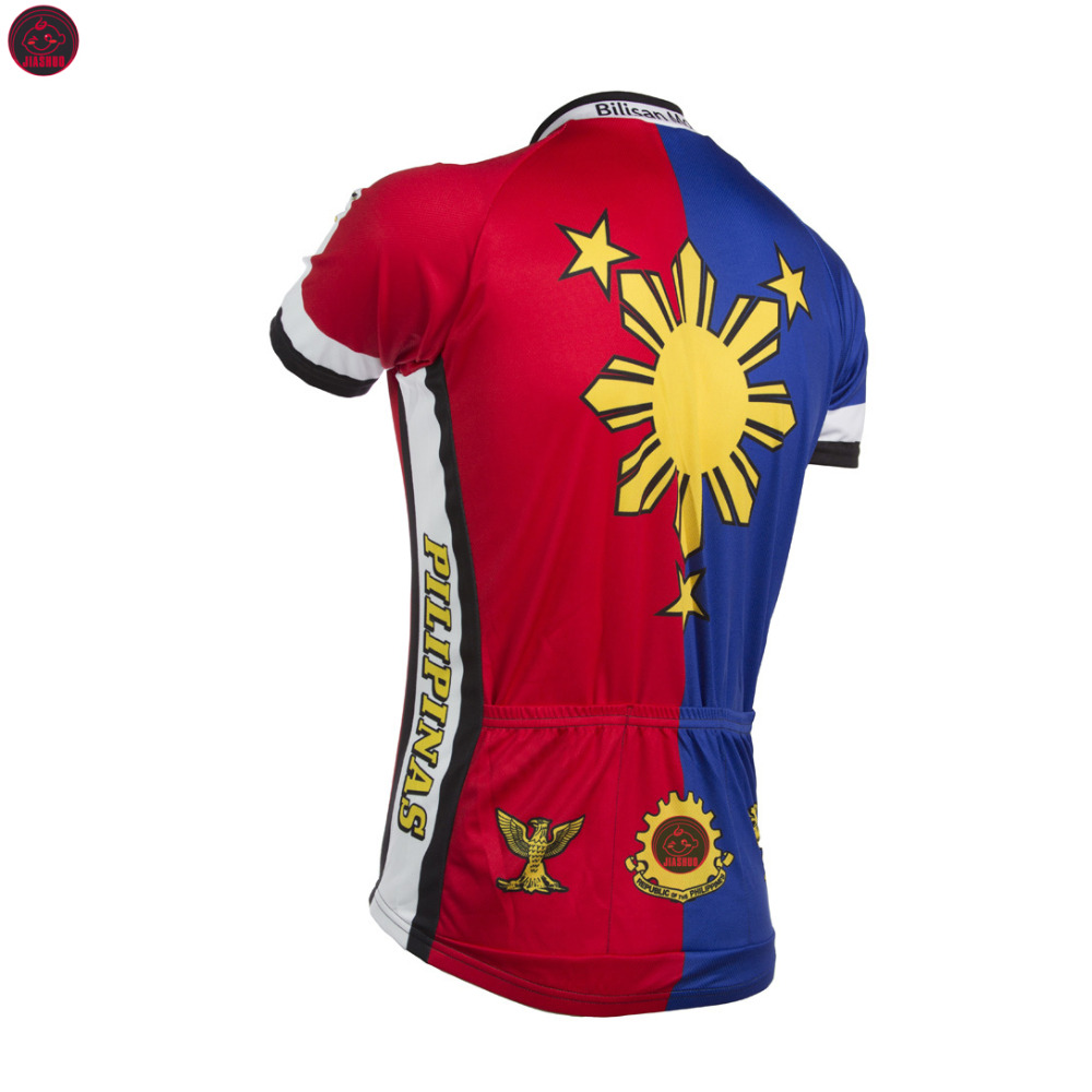 bba9af78f NEW 2017 Philippines Pilipinas Jersey Bike RACE Team Cycling Jersey Wear  Clothing Breathable Customized Ropa CICLISMO JIASHUO-in Cycling Jerseys  from Sports ...