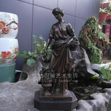 classical sculpture harvest goddess bronze art ornament crafts decoration gift Home Furnishing