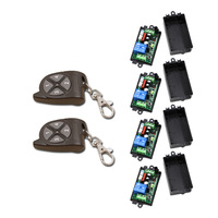 High Quality 1CH RF Wireless Remote Control Relay Switch Light Lamp LED Garage Doors Electric Doors