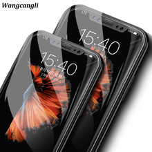 Wangcangli 3D full tempered glass for iPhone 7plus  screen protector for iPhone x protective glass the for iPhone 6 6s 7 8 plus чехлы для телефонов chocopony чехол для iphone 7plus цветные соты арт 7plus 293 page 8