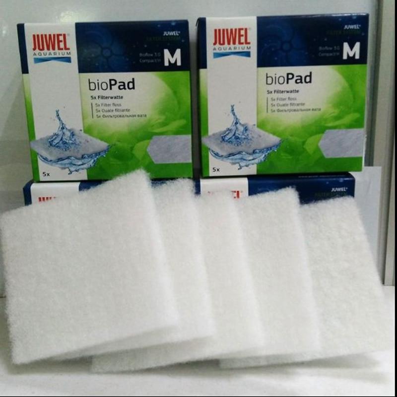 Aquarium Filter Materials Juwel BioPad  Poly White Fish Tank Filter Cotton