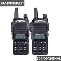 baofeng uv 2pcs Baofeng UV82 מכשיר הקשר 10 KM Dual Band 136-174 / 400-520 MHz FM Ham שני הדרך רדיו UV82 CB Ham Radio Hf משדר UV 82 (1)