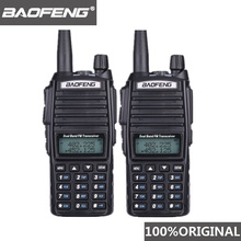 2PCS BaoFeng UV-82 Walkie Talkie 10 KM Dual Band 136-174/400-520 MHz FM Ham Two Way Radio UV82 CB Hf Transceiver UV 82