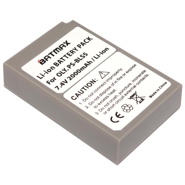 1Pcs PS-BLS5 BLS-5 BLS5 BLS-50 BLS50 Camera Battery for Olympus PEN E-PL2,E-PL5,E-PL6,E-PL7,E-PM2, OM-D E-M10, E-M10 II, Stylus1