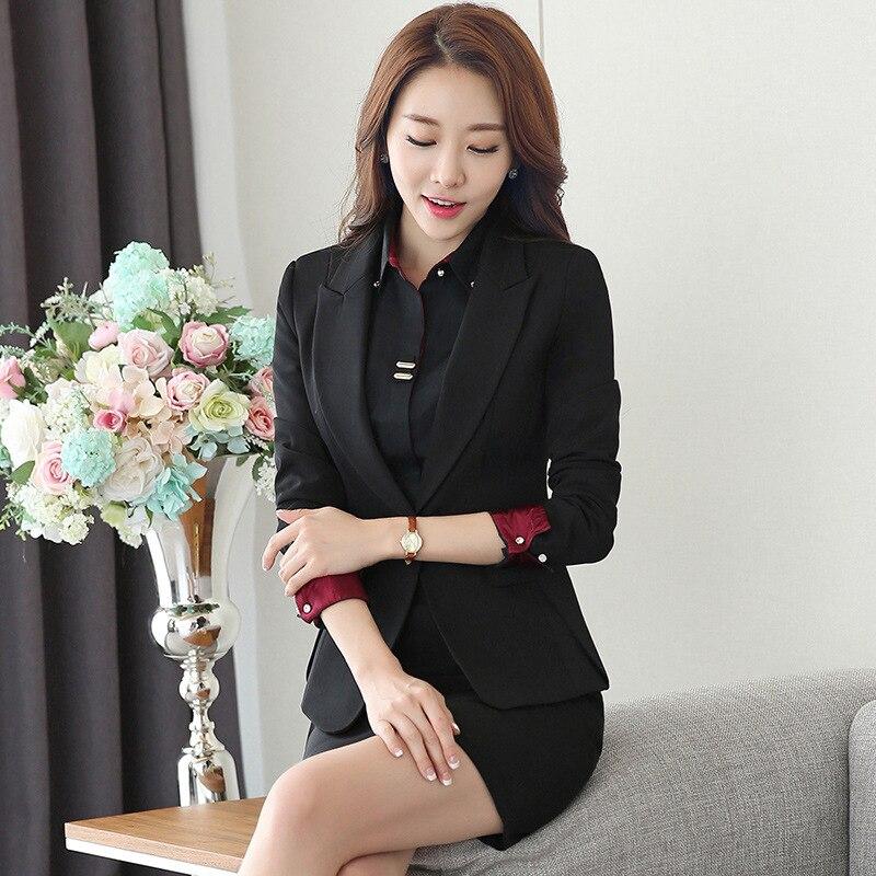22ab4e95c89d y y de traje para pantalón chaqueta Formal Formal mujer Elegante ...