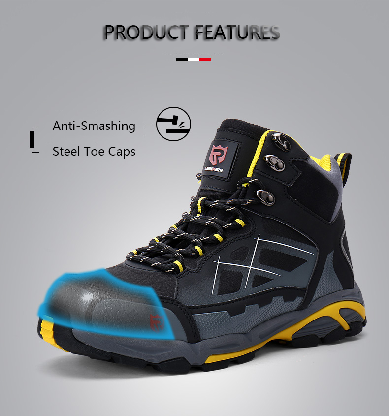 Work & Safety Boots Modyf Men Steel Toe Cap Work Safety Shoes Outdoor Ankle Boots Fashion Puncture Proof Footwear Online Shop