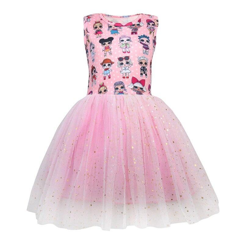 a5c8183a3d3b Raisevern 2019 NEW Wedding Party Dress Children s Dress Vest Princess Wear  Cartoon Clothing Holiday Wear Summer
