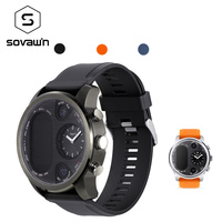 Sovawin T3 Smart Watch Men Heart Rate GPS Waterproof Sport Smart Watch Blood Pressure Bluetooth Russian for Android for IOS