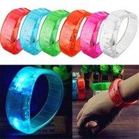 Светящиеся браслеты, реагируют на музыку