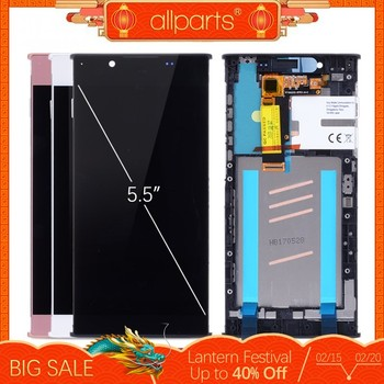 5,5'' NUEVO Original pantalla para SONY Xperia L1LCD Tactil Completa Display táctil Écran para Sony L1 G3312 pantalla LCD con marco Digitalizador reemplazo Negro Blanco