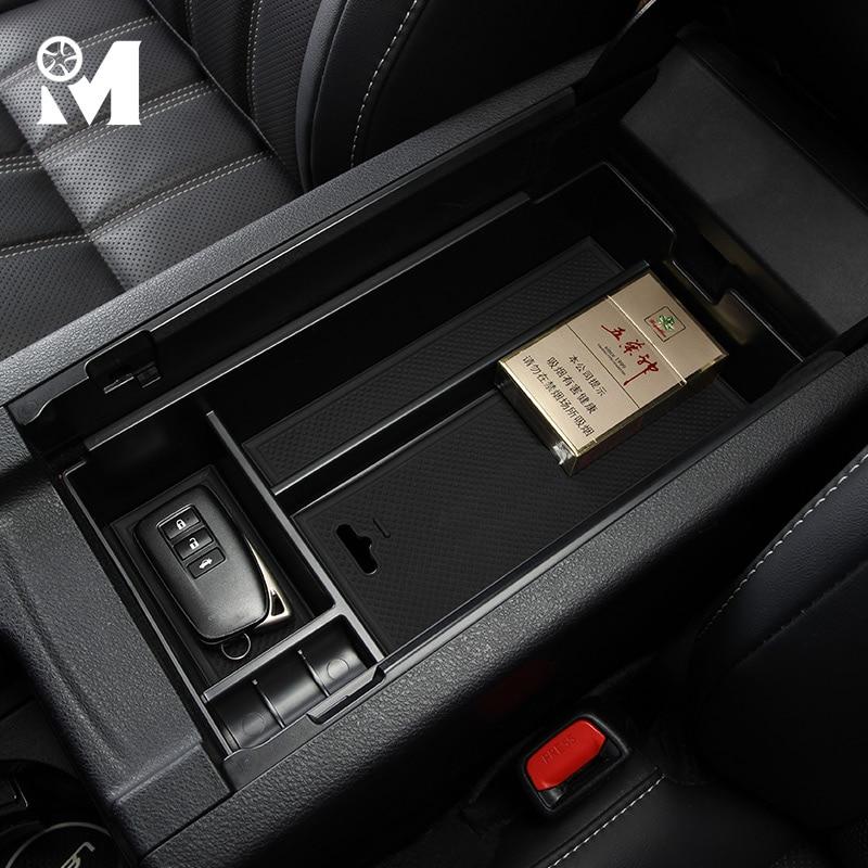 Car Accessories Central Armrest Storage Box Auto Interior Organizer For Lexus RX NX CT200h IS200 250 300 350 330 400 450h ES300h Lexus RX