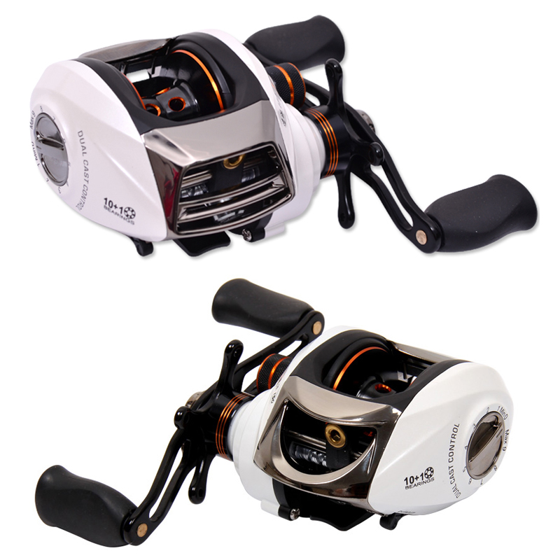 ФОТО Tsurinoya SP150 New Arrival Casting Fishing Reel 11 Bearings Dual Brake System Magnetic Brake Salt Water Baitcasting Reels